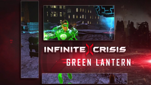 Infinite Crisis - Green Lantern champion