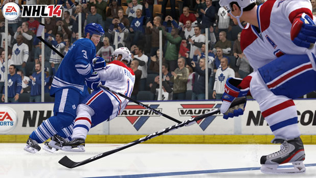 NHL 14 Screenshot - nhl 14 maple leafs vs canadians