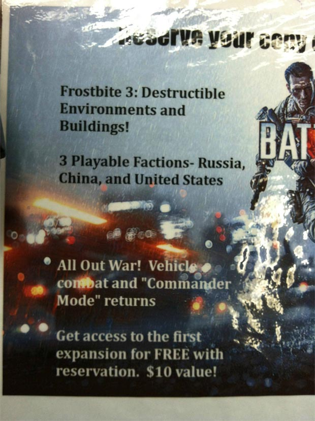 Battlefield 4 promotional art - Commander Mode