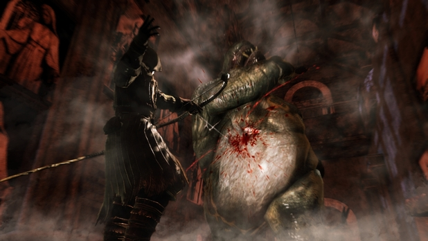Dark Souls II Screenshot - Dark Souls 2 - Belly Arrow