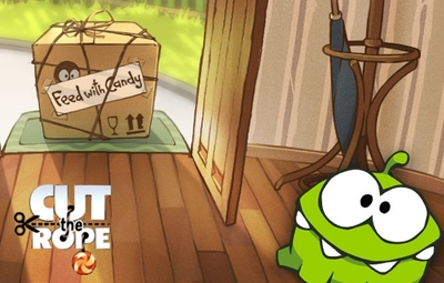 Cut the Rope Screenshot - cut the rope