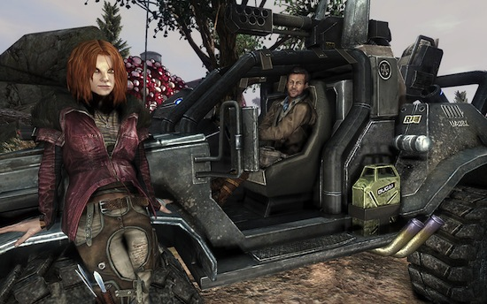 Defiance - Nolan and Irisa