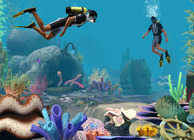 The Sims 3 Island Paradise scuba diving
