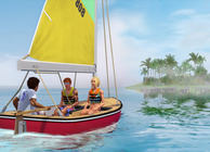 The Sims 3 Island Paradise sailing