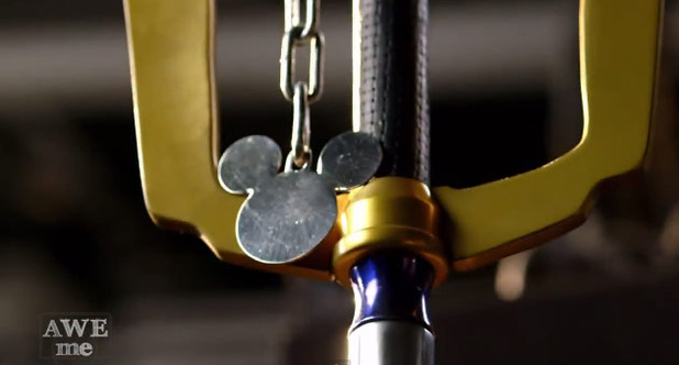 Kingdom Hearts Screenshot - Kingdom Hearts real life Keyblade