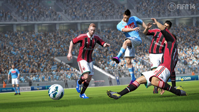 FIFA 14 pure shot screenshot