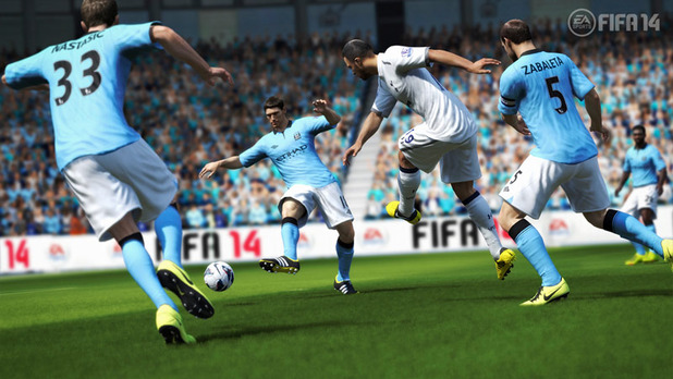 FIFA 14 passing screenshot