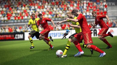 FIFA 14 dribbling screenshot