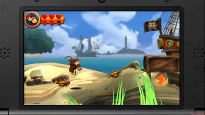 Donkey Kong Country Returns 3D Screenshot - 1144877