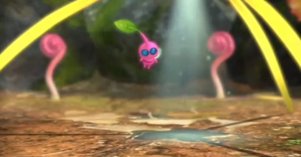 Pikmin 3 Screenshot - Winged Pikmin - Pikmin 3