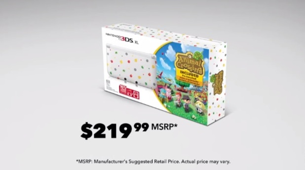 Animal Crossing: New Leaf 3DS XL bundle