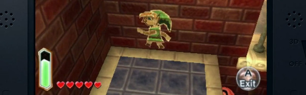 Nintendo 3DS XL Screenshot - 3DS zelda