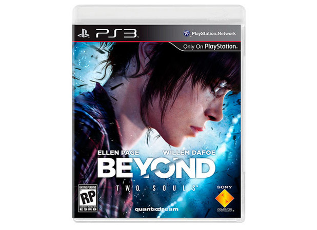 Beyond: Two Souls Screenshot - Beyond: Two Souls cover art featuring Ellen Page