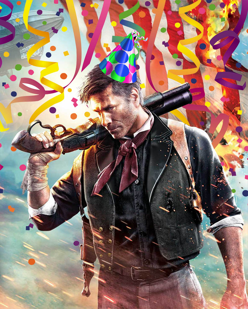 Happy Birthday Booker DeWitt