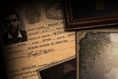 Booker DeWitt's Pinkerton Credentials Loading Screen