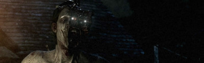 The Evil Within feature image, zombie with torch