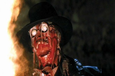 Indiana Jones, Raiders of the Lost Ark, face melting