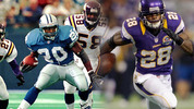 Barry Sanders vs Adrian Peterson Madden NFL 25 cover vote