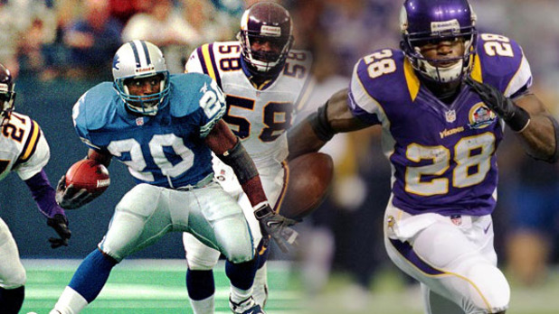 Madden NFL 25 Screenshot - Barry Sanders vs Adrian Peterson