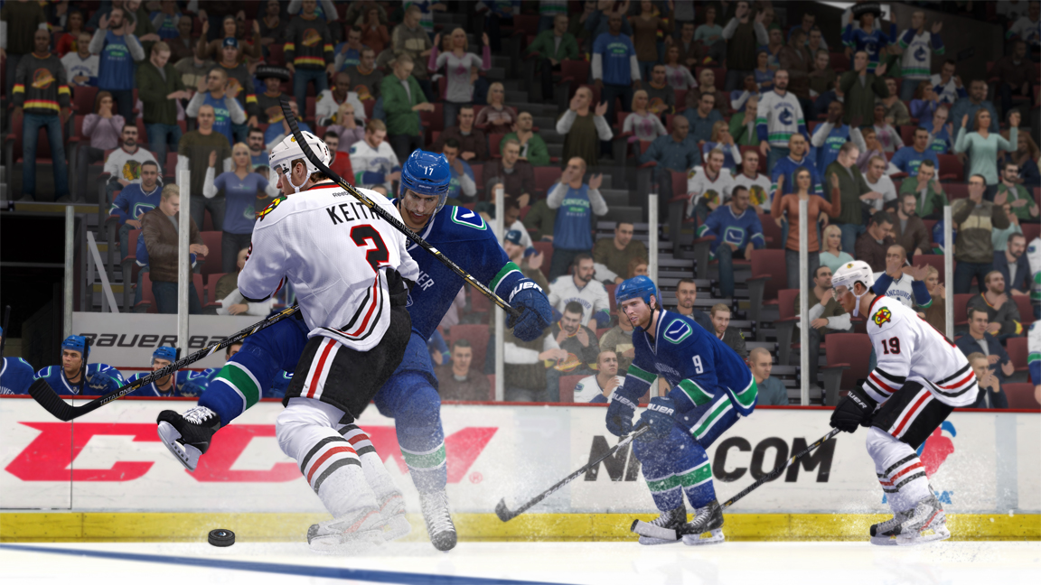 NHL 14 - collision physics