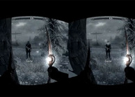 Skyrim Oculus Rift headset