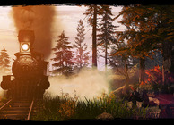 Call of Juarez Gunslinger train robbery