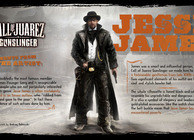 Call of Juarez Gunslinger jesse james