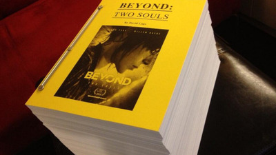 Beyond: Two Souls script