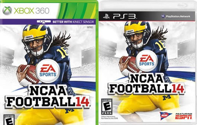 Denard Robinson NCAA Football 14 cover