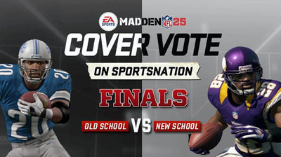 Madden NFL 25 cover vote