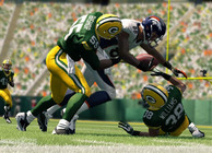 Madden 25 Demaryius Thomas Denver Broncos getting tackled