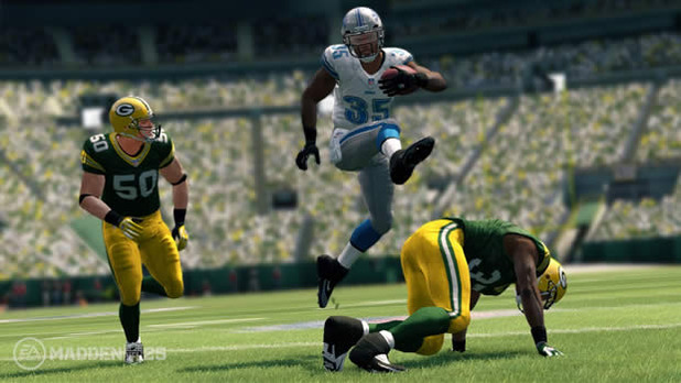Madden NFL 25 Screenshot - Madden 25 Detroit Lion and Green Bay Packers