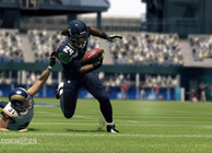 Madden 25 Marshawn Lynch breaking a tackle