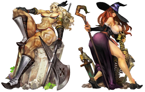 Dragon's Crown artwork in question