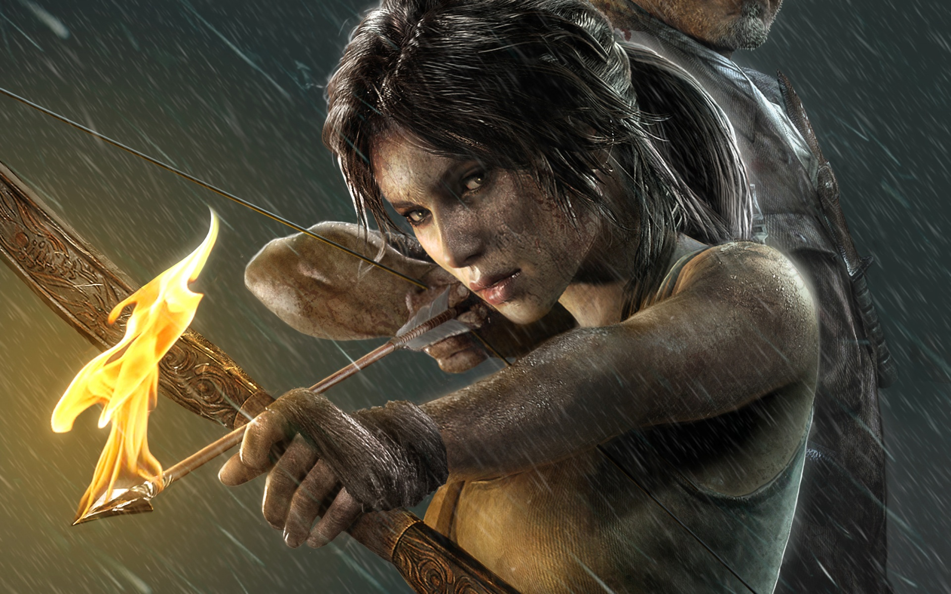Lara Croft in new Tomb Raider