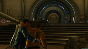 Star Trek video game, PC, Spock carrying Kirk