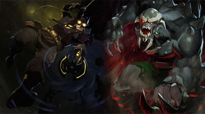 Infinite Crisis Screenshot - Infinite Crisis Gaslight Batman and Doomsday