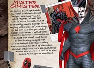 Deadpool Mister Sinister