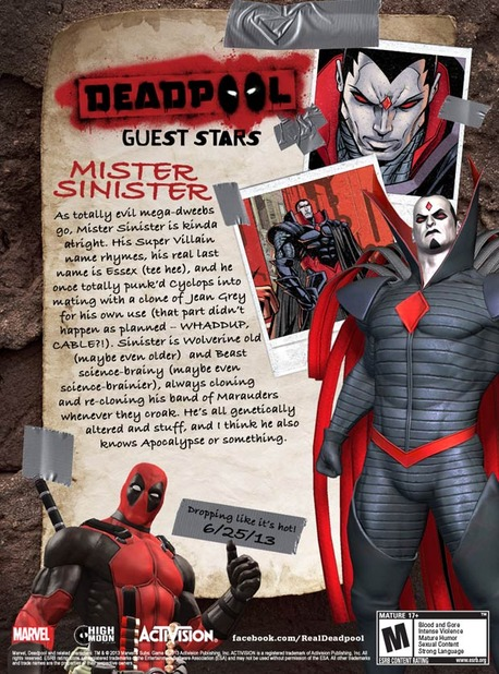 Deadpool Screenshot - Deadpool Mister Sinister