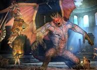Dragon&#x27;s Dogma Dark Arisen Fighting Gargoyle
