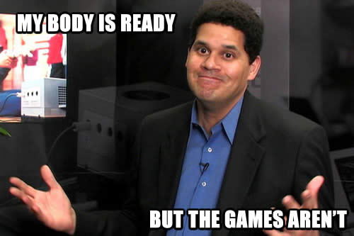 Reggie 'My body is ready' meme