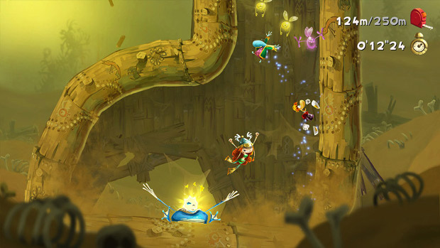 Rayman Legends Challenges App - Wii U - 2