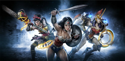 Infinite Crisis Screenshot - Infinite Crisis - Wonder Woman Multiverse variants