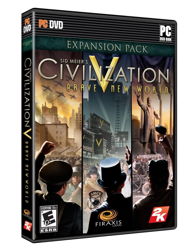 Civilization V: Brave New World - Box Art