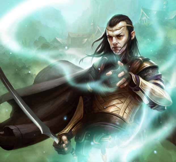 Elrond, Guardians of Middle-earth art