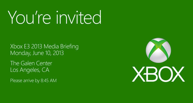 Screenshot - Microsoft E3 invite