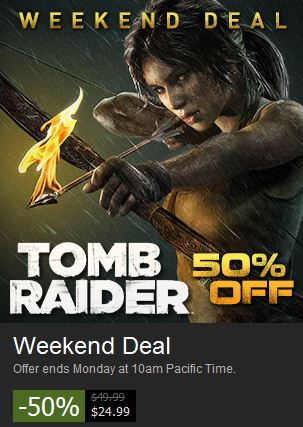 Tomb Raider Steam Deal