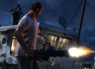 gta 5 shooting gatling gun