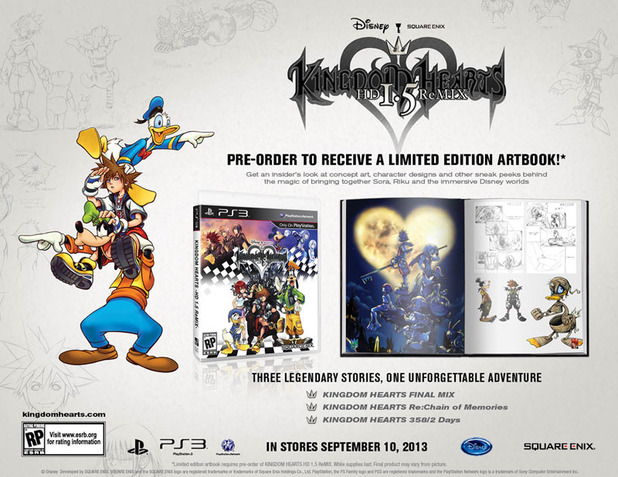 Kingdom Hearts HD 1.5 ReMIX Screenshot - Kingdom Hearts HD 1.5 ReMIX art book