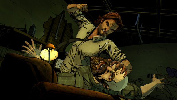 The Wolf Among Us Screenshot - The Wolf Among Us Bigby fight